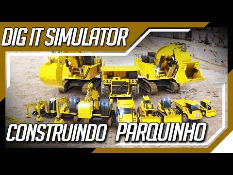 DIG IT - A Digger Simulator - Parque no fundo de Casa |