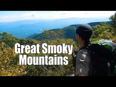 Backpacking the Great Smoky Mountains - 3 days 45 miles