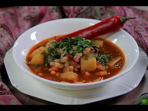 Испанский суп Рабо де Торо - Быстрые рецепты! - Готовим вместе