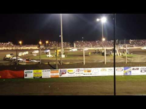 Part 2 Fairbury American Legion Speedway Modified Summer Nationals