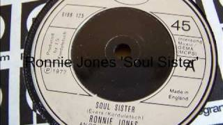 Ronnie Jones Soul Sister