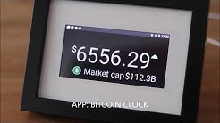 Bitcoin Ticker - Crypto Display - Ikea Hack