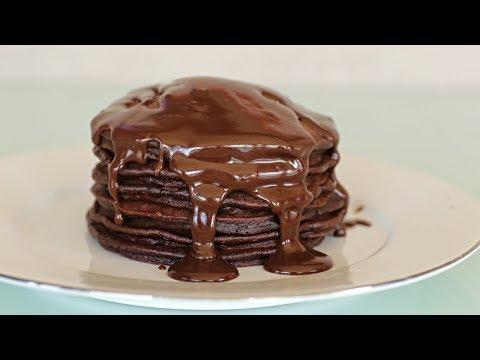 How To Make Chocolate Pancakes