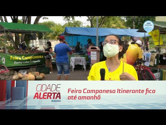 Feira Camponesa Itinerante fica até amanhã no Conjunto José Tenório