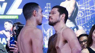 Teofimo Lopez  vs Diego Magdaleno WEIGH IN