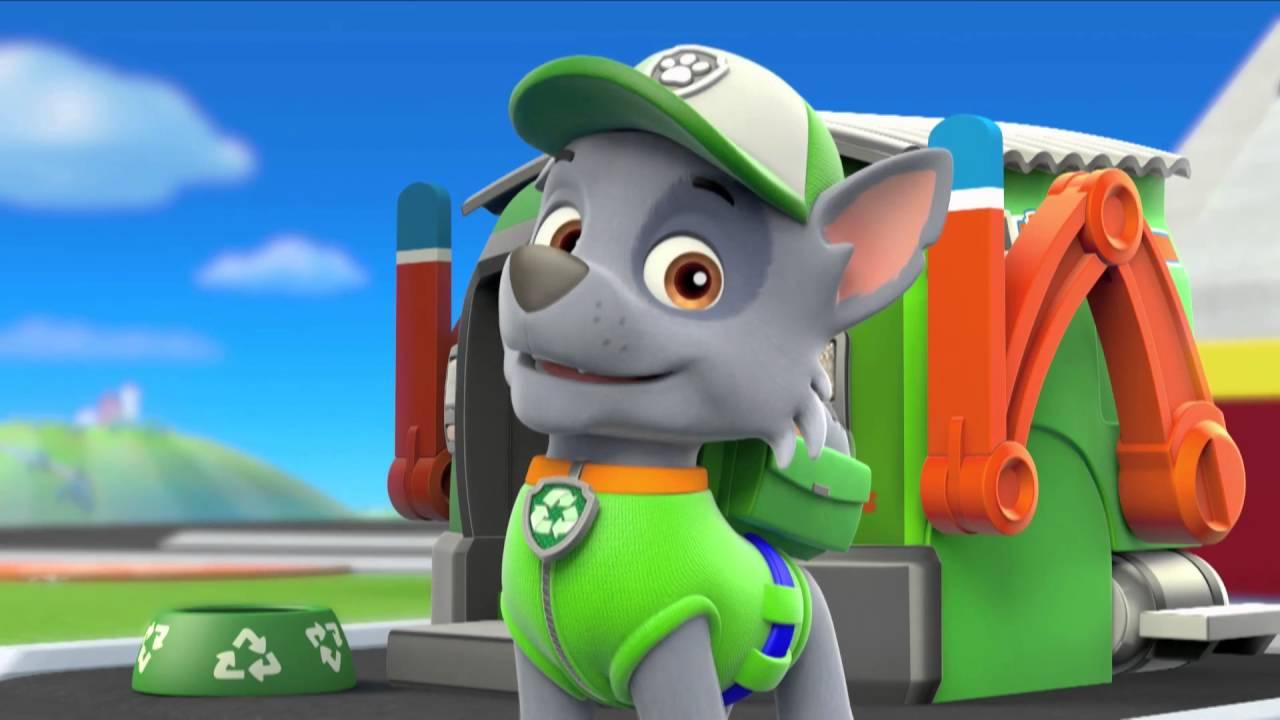 Paw Patrol Character Spot Rocky
