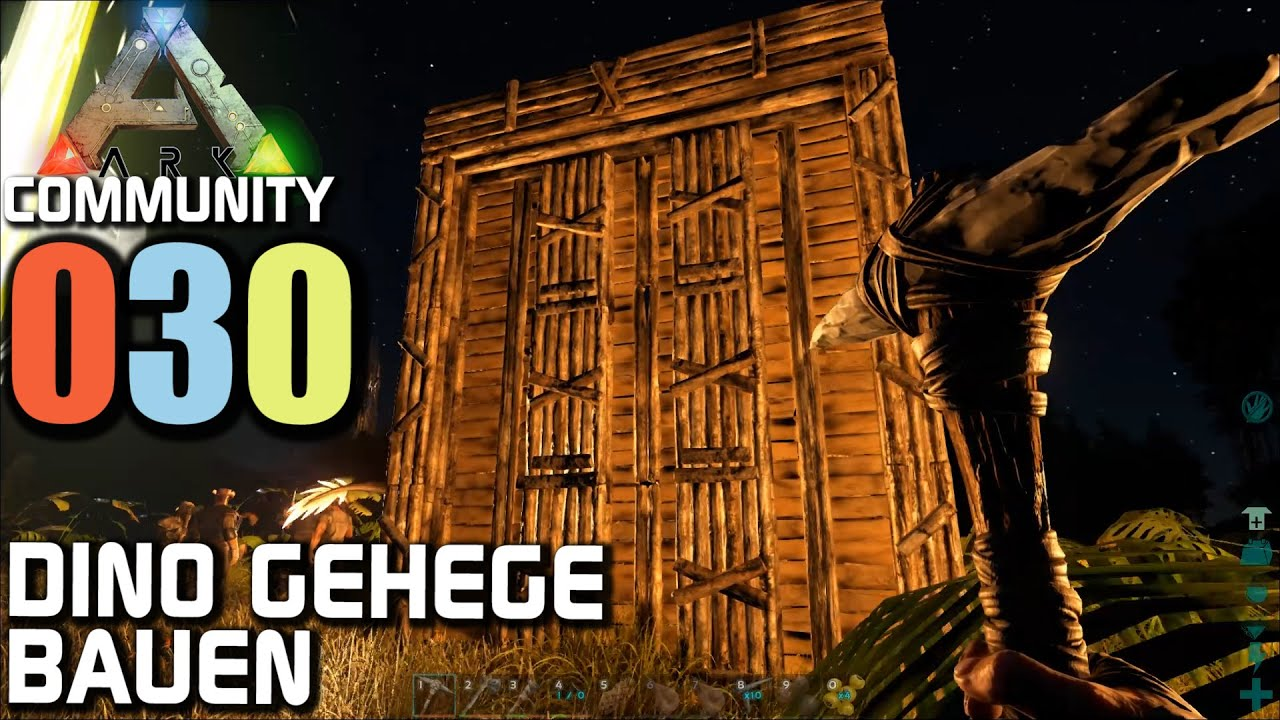 ark survival evolved gameplay german com server 030 dino gehege bauen let 39 s play deutsch. Black Bedroom Furniture Sets. Home Design Ideas