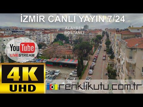 İzmir Karşıyaka Bostanlı Canlı Yayın Kamera / 24 Saat