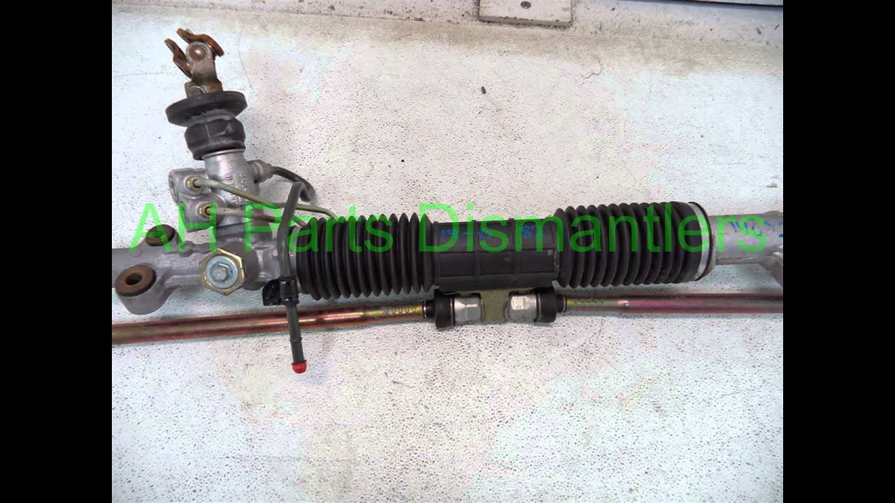 2005 Honda Civic Steering Rack Pinion 53601 S5d A42