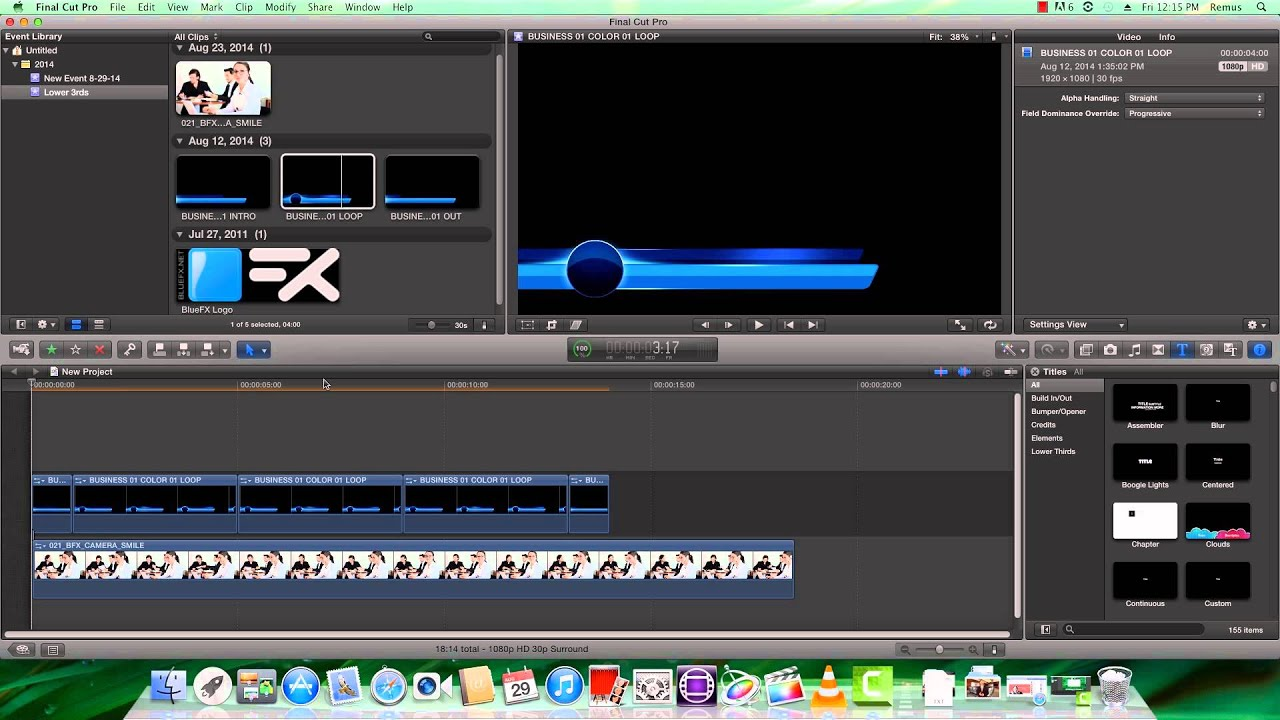 Free lower third template tutorial for final cut youtube for Final cut pro lower thirds templates