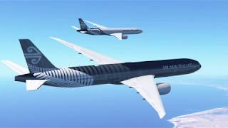 Infinite Flight AKL-WLG Air New Zealand's Greatest Livery Of All Time