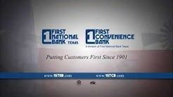 First National Bank Texas & First Convenience Bank
