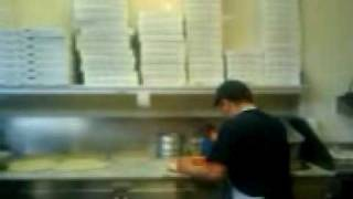 Making Pizza At Valentinos