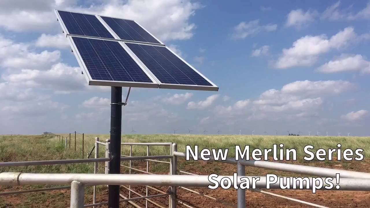 Advanced Power Inc's new Merlin Series Solar Pumps