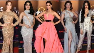HOT Bollywood Actress BOLD Dress At Filmfare Glamour & Style Awards 2019