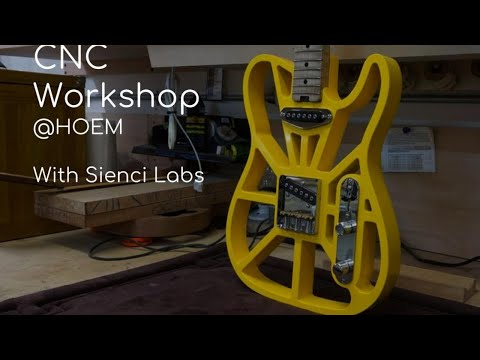 Basics of Digital Woodcutting CNC Workshop - Live at Ryerson University's HOEM