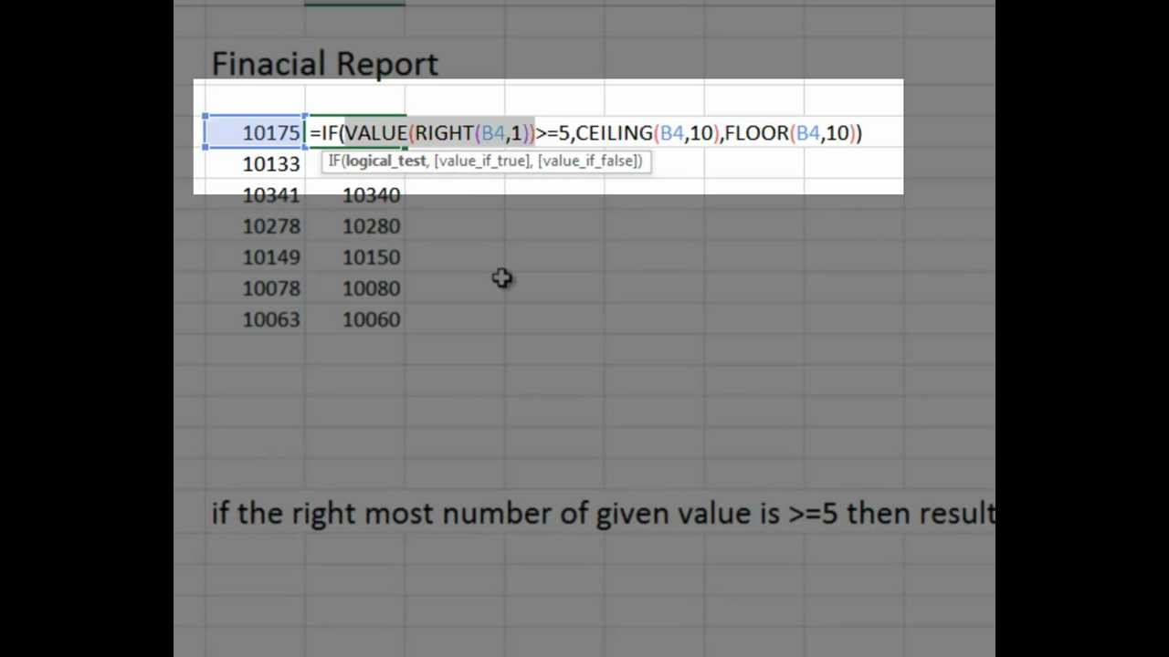 financial reports in excel part 1 youtube