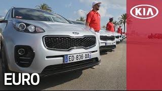 Kia Sportage Test drive event in the South FranceㅣEuro FootballㅣKia