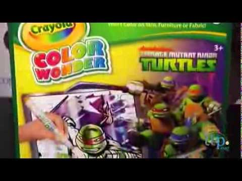 Crayola Color Wonder Teenage Mutant Ninja Turtles Metallic Paper ...