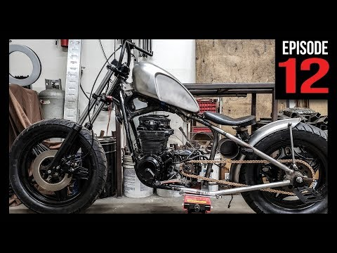 Bobber Metal Fabrication - Day 2 - Episode12