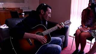 "Omara ""Bombino"" Moctar playing for Music 101"