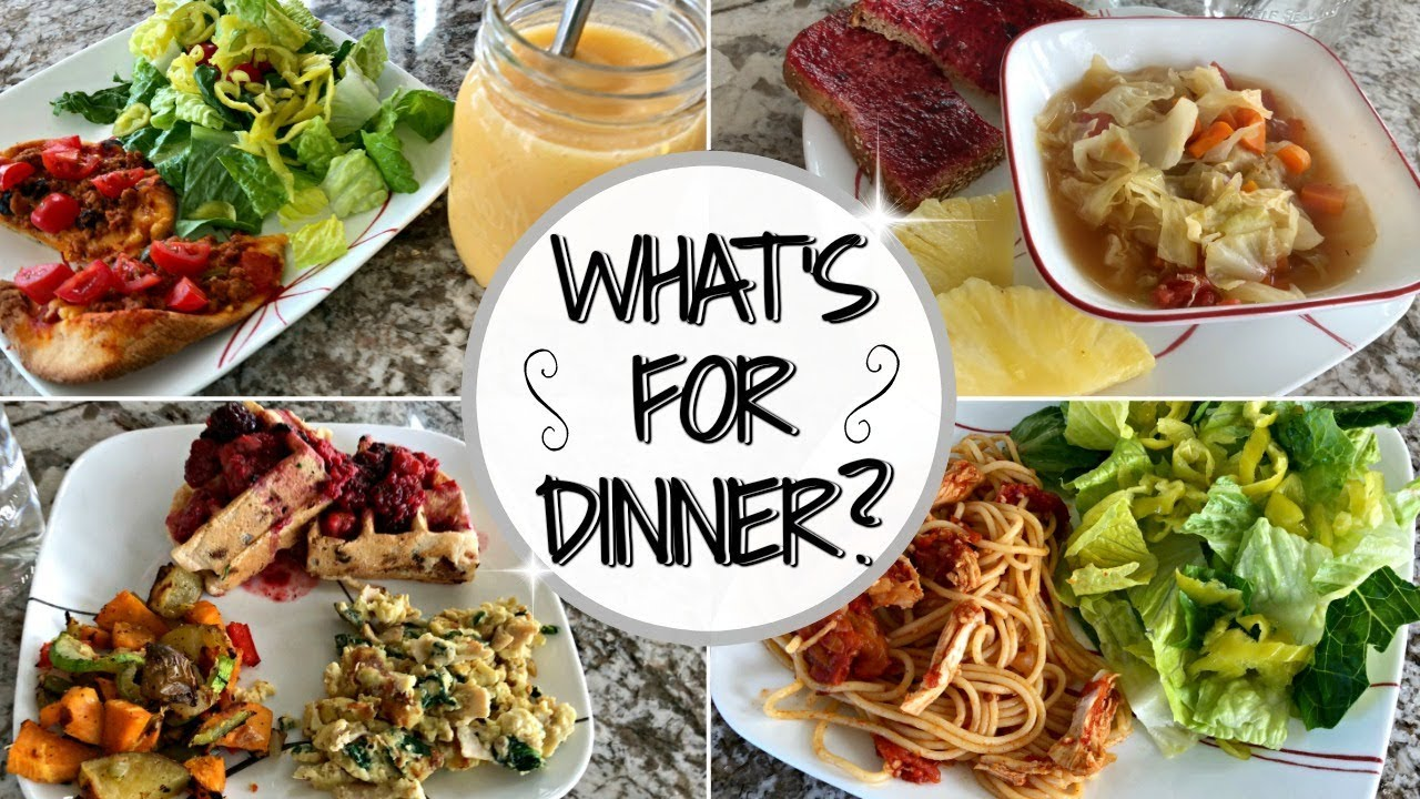 WHAT'S FOR DINNER THIS WEEK :: MEAL PLANNING INSPIRATION :: DINNER IDEAS & RECIPES - YouTube
