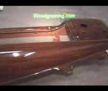 Woodgrained Dashboard