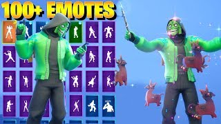Fortnite MEZMER Skin Dance with 100+ Emotes (including Hoop Master, Busy, Conga)