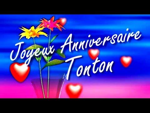 Joyeux Anniversaire Tonton Youtube
