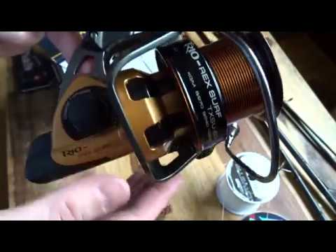 OKUMA Trio Rex Salt TXS-60 FD Surf 47439 Beach Fishing Reel