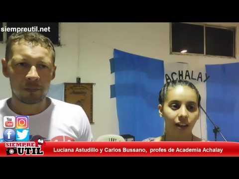 Carlos Bussano y Luciana Astudillo - Academia Achalay