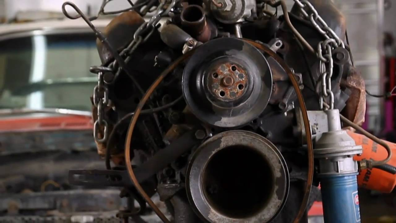 Haynes Project 50 Removing Engine And Transmission Youtube Timing A 351 Ford