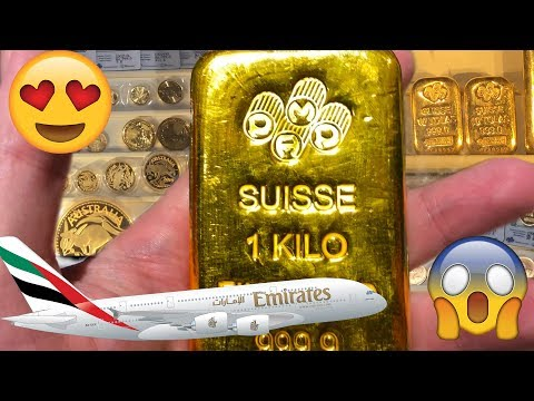 Buying Gold In Dubai Airport! Wow! :D