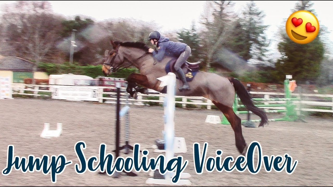 SHOWJUMPING SCHOOLING ON FIONA WITH EQUILAB