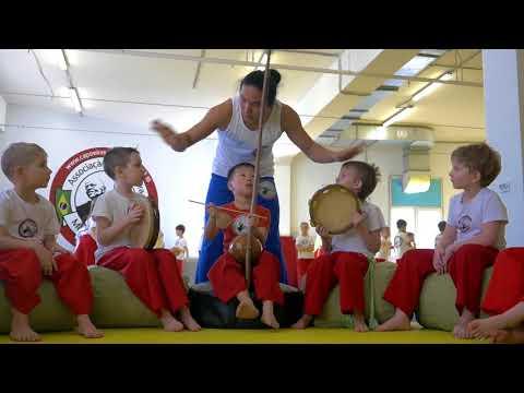 Capoeira Vladivostok Batizado 2017 kids