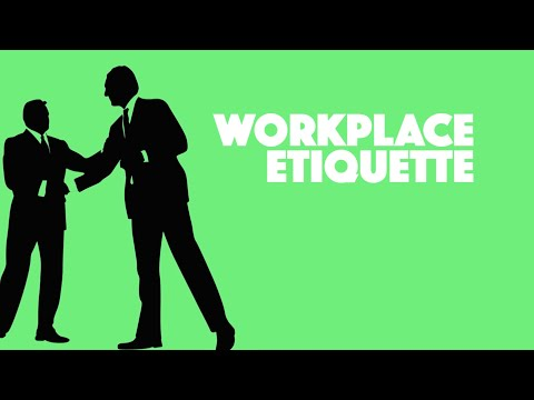 Skill Up - Workplace Etiquette