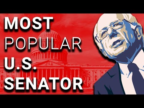Bernie (Again) America's Most Popular Senator, Donors Fundin