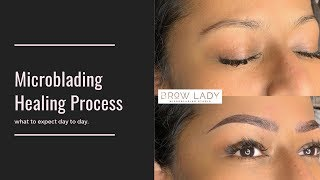 Microblading Healing Process - What to expect so ya don't freak out!