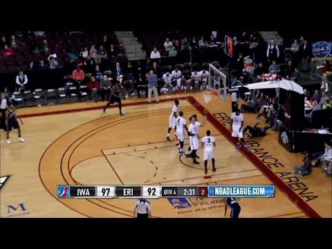 """James Ennis posts 24 points & 10 rebounds vs. the BayHawks, 3/16/2016"""