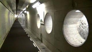 温井ダム、地下のトンネル見学へ! thumbnail