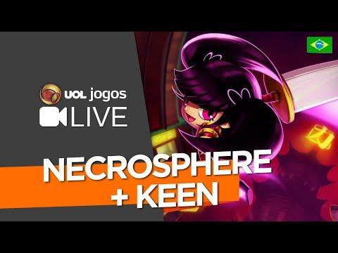 Grande Semana de Jogos BR #01: Necrosphere  e Keen, da Cat Nigiri