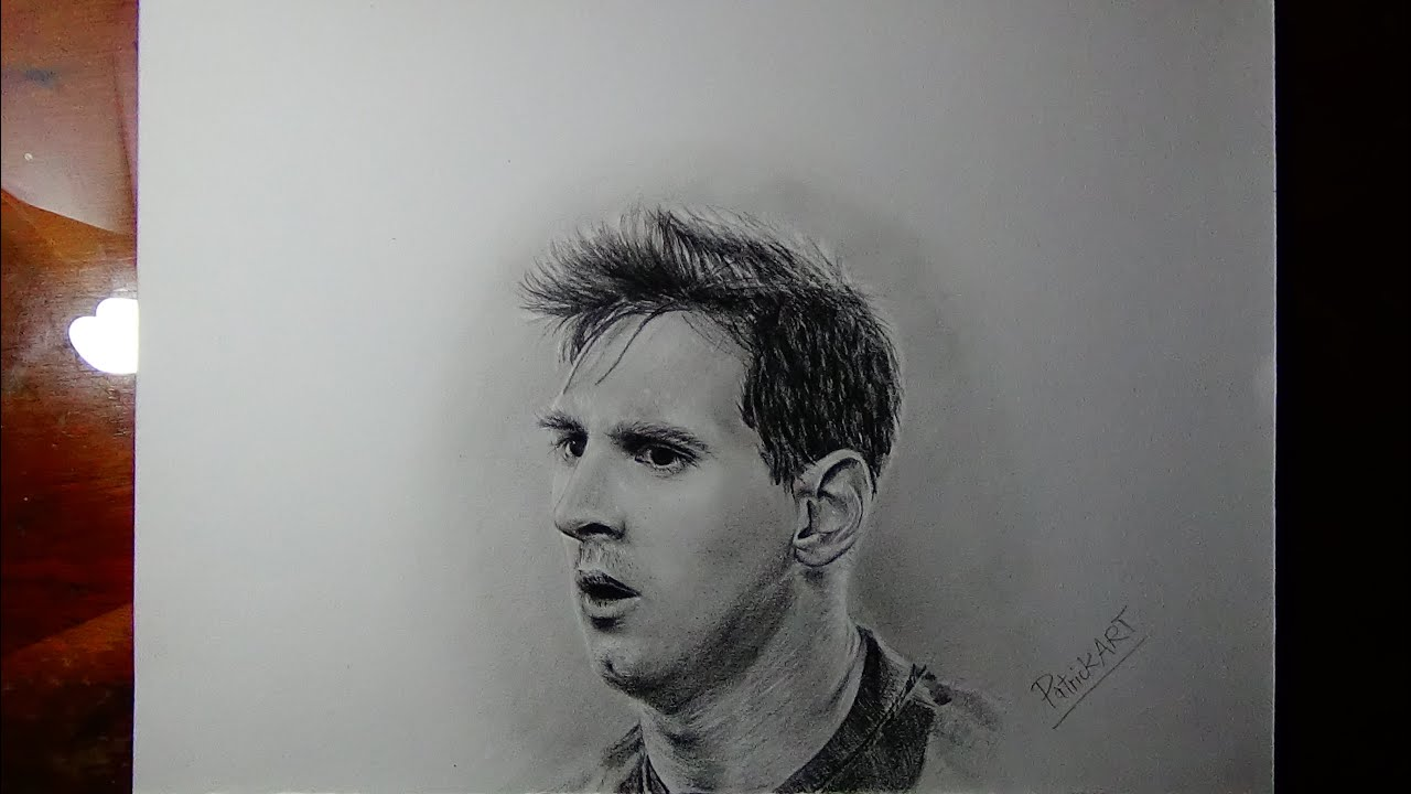 Dibujando a Lionel Messi  Dibujando a Deportistas  PatrickART