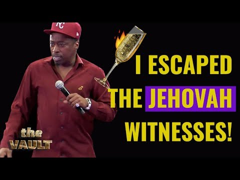 Eddie Griffin on Jehovah Witnesses and the Benefits of Polygamy.  Standup Comedy From The Vault