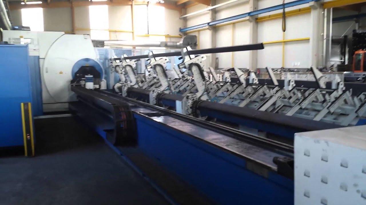 Laser Rohrschneidanlage Trumpf Tube 7000 3600 Watt