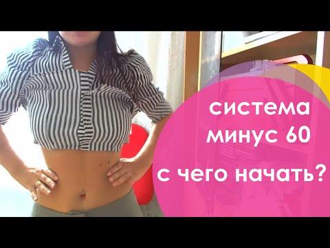 Система похудения «Минус 60» - эффективная диета и