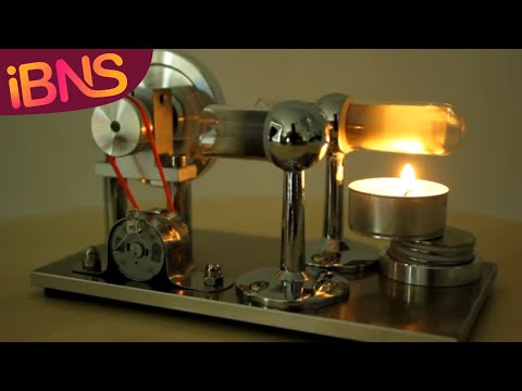 Stirling Engines: Energy from FIRE and ICE!