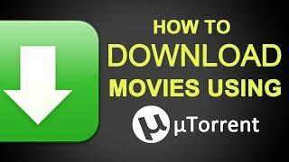 Download movies via utorrent   free   video tutorial