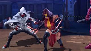 [MARVEL Future Fight] Meet Infinity Warps Characters First Time EVER!