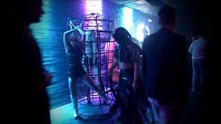 BDSM SHOW - БДСМ театр СЕКС МИССИЯ - Перформанс в клубе МИКС ! фетиш фрик шоу !