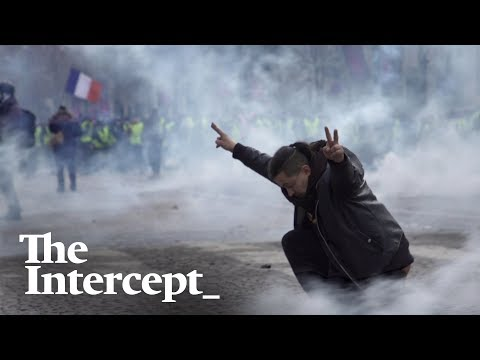 "Voices of the Yellow Vests: ""We are just here peacefully, getting tear gassed."""